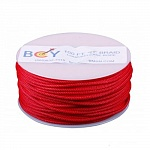 Нить BCY D-LOOP ROPE 0,060 RED BRAIDED POLYESTER 100 FEET - 30 METER""