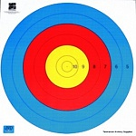 Мишень JVD TARGET FACE FITA WATERPROOF 80 CM CENTRE 6-RING